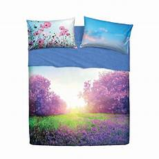 lenzuola copriletto bassetti set lenzuola letto singolo 1 piazza bassetti purple summer