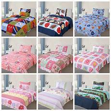 2 pcs bedspread quilts set for boys bed printed