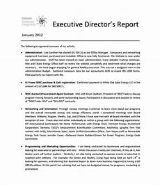 Template For A Report Executive Report Template 11 Free Word Pdf Documents