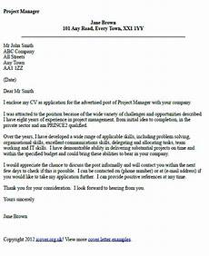 Cover Letter For Project Coordinator Position Project Manager Cover Letter Example Icover Org Uk