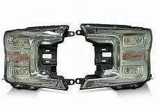 2018 Ford F150 Oem Lights Pair 2018 Ford F150 Oem Led Headlights The Hid Factory
