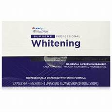 crest whitestrips supreme professional tooth whitening dental store