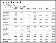 Create An Income Statement How To Create An Income Statement In Xero