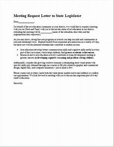 Sample Letter Requesting A Meeting Meeting Request Letter Template For Ms Word Document Hub