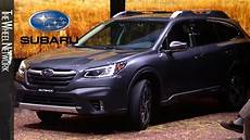 when will 2020 subaru outback be available 2020 subaru outback reveal highlights 2019 new york auto