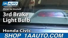 Honda Civic Light Bulb How To Install Replace 3rd Brake Light Bulb 1992 00 Honda
