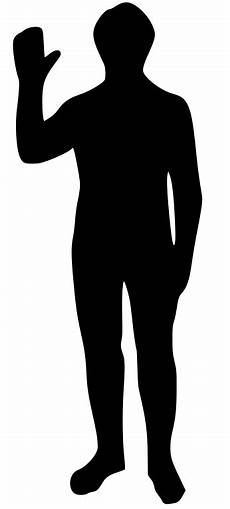 Human Outline File Human Outline Svg Wikimedia Commons