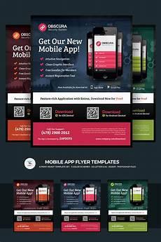 Make Flyers App Mobile App Flyer Psd Template 66250