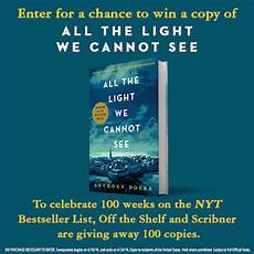 All The Light We Cannot See Characters All The Light We Cannot See Book By Anthony Doerr