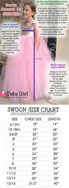 Tutu Dress Size Chart How To Measure For Our Products
