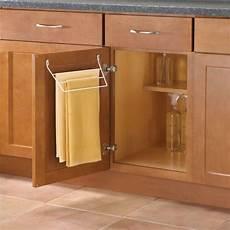 knape vogt door mount towel rack for kitchen or bathroom
