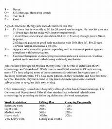 Soap Notes Physical Therapy Soap Note Template 10 Free Word Pdf Documents Download
