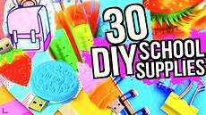 30 diy school supplies projects for back to school 2016