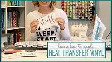 Transfer Apply How To Apply Heat Transfer Vinyl Youtube