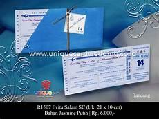 undangan pernikahan evita salam sc unique card wedding