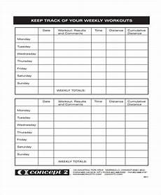 Workout Sheet For Gym Workout Sheet Templates 7 Free Word Pdf Format