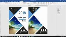 How To Create A Cover Page How To Design Book Cover Using Ms Word Part 2