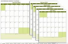 Month Printable Calendar 15 Free Monthly Calendar Templates Smartsheet