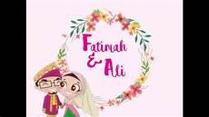 undangan digital pernikahan 03 youtube
