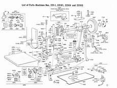 Singer Featherweight 221 Parts Diagram