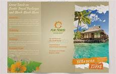 Free Travel Samples 10 Beautiful Trifold Travel Brochure Tempaltes Psd Pdf