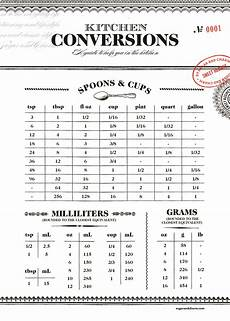 american cooking measures conversion chart printable kitchen conversion chart sugar and charm sugar