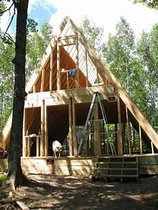 our a frame cabin domy plany domu budowa