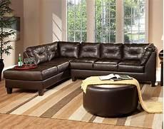 12 photo of chocolate brown sectional sofa