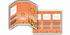 Food Brochure Templates Food Brochures Template Bowl