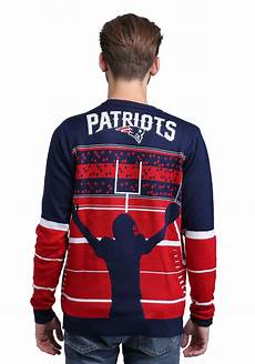 Nfl Patriots Light Up Sweater New England Patriots Stadium Light Up Ugly X Mas Sweater