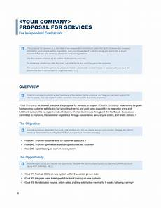 Service Proposal Template Services Proposal Business Blue Design