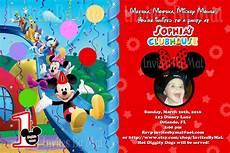 Custom Mickey Mouse Invitations Mickey Mouse 1st Birthday Invitations Drevio Invitations
