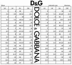 Dolce And Gabbana Sneaker Size Chart Dolce Amp Gabbana Shoes Size Chart Conversion Soleracks