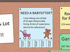 How To Get More Babysitting Jobs How To Get A Babysitting Job 13 Steps With Pictures