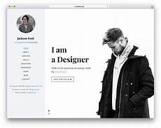 Personal Resume Website Example 27 Free Personal Website Templates To Boost Your Brand