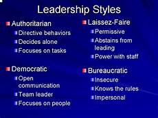 Describe Your Leadership Style The Ideal Leadership Style Usifoa