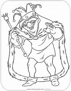 Quasimodo Malvorlagen Kita The Hunchback Of Notre Dame Coloring Pages Disneyclips