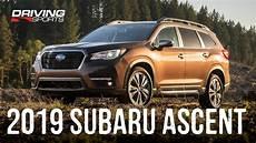 2019 subaru third row 2019 subaru ascent all new 3 row suv review