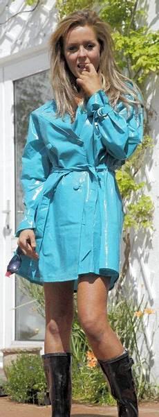 Light Summer Raincoat Light Blue Pvc Raincoat Boho Summer Outfits Rainy Day