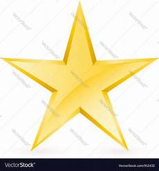 Star Vectors Free Shiny Gold Star Royalty Free Vector Image Vectorstock