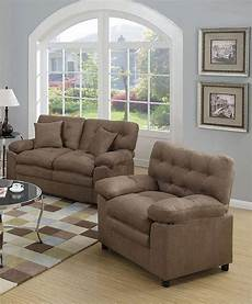 modern brown fabric upholstered 3 pcs sofa set f7910