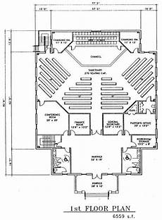 Floor Plan Church Church Plan 149 Lth Steel Structures