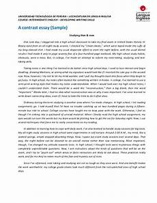 Example Of Compare And Contrast Essay Topics Compare Contrast Essay Prompts The Compare And Contrast