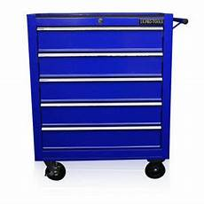 us pro blue tools chest tool box roller cabinet 5 drawers