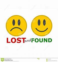 Lost And Found Sign Lost And Found Sign Stock Vector Illustration Of