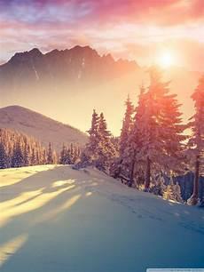 Nature 4k Wallpaper For Tablet by Sunset Winter Shadows Ultra Hd Desktop Background