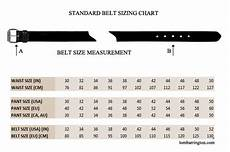 34 Pants Size Chart Ordering A Leather Belt How To Order The Correct Belt
