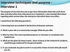Interview Techniques Interview Techniques For Creative Media Products