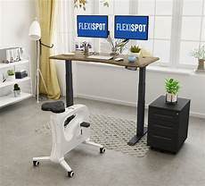 Flexispot Ergonomic Office Chair Oc5g Fashionable Caster Chair White by Flexispot L Shaped Electric Height Adjustable Standing