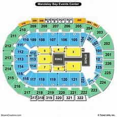 Mandalay Bay Seating Chart Mandalay Bay Events Center Seating Chart Seating Charts